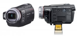 Panasonic SD100 (left) HS100 (right)